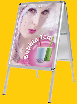 Bubble-Tea Kundenstopper